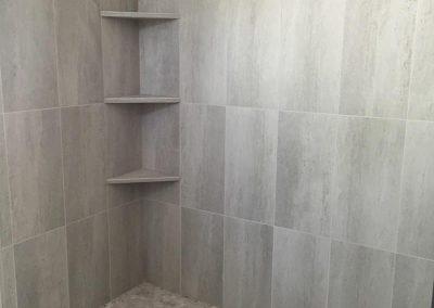 Arden Bathroom grey Tile