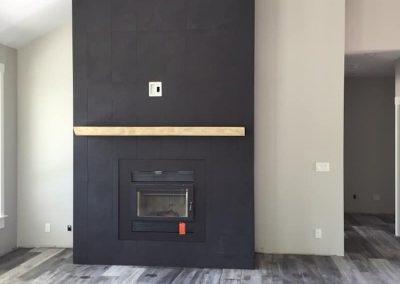 Arden Fireplace black