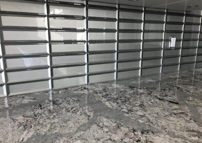 Arden Garage Granite Floor