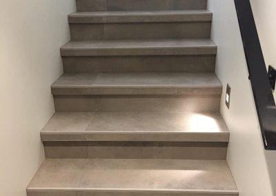Arden Staircase in tile