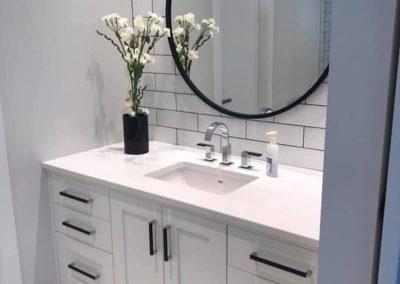 Arden bathroom White Subway Tile